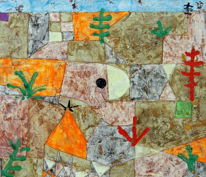 Südliche Garten, Paul Klee