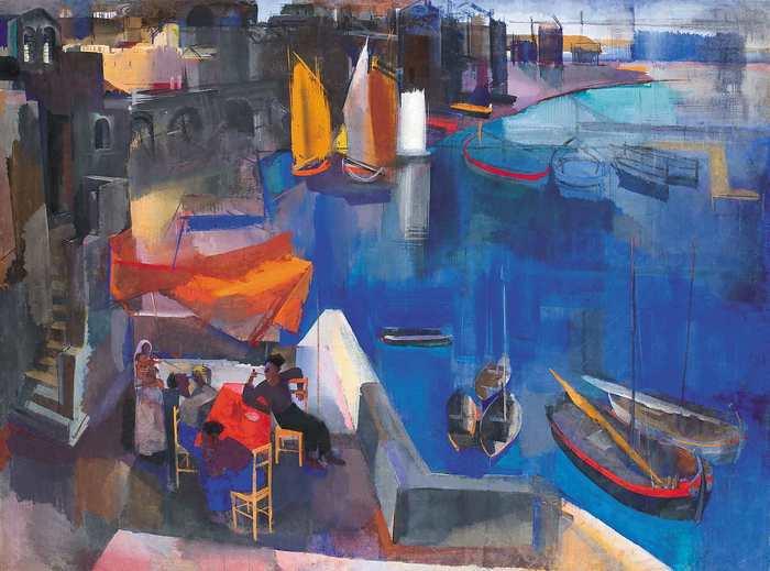 Kikötő (1930), Aba-Novák Vilmos