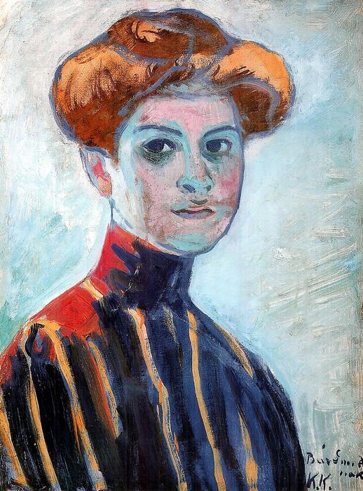 Női portré, Kernstok Károly