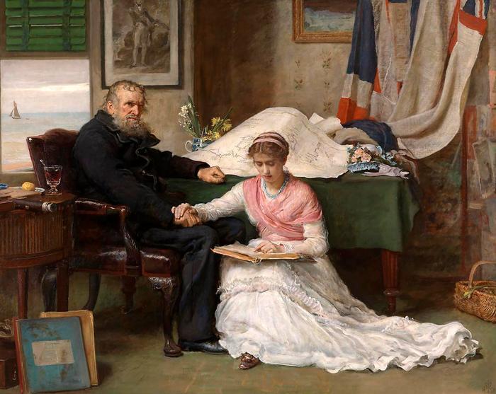Az Északnyugati átjáró (1878), John Everett Millais