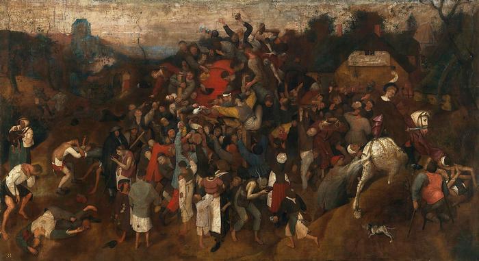 Szent Márton bora, Pieter Bruegel the Elder