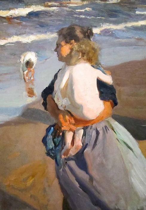 A kis unoka (1908), Joaquin Sorolla