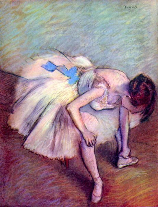 Balett- táncosnő, No. 2., Edgar Degas