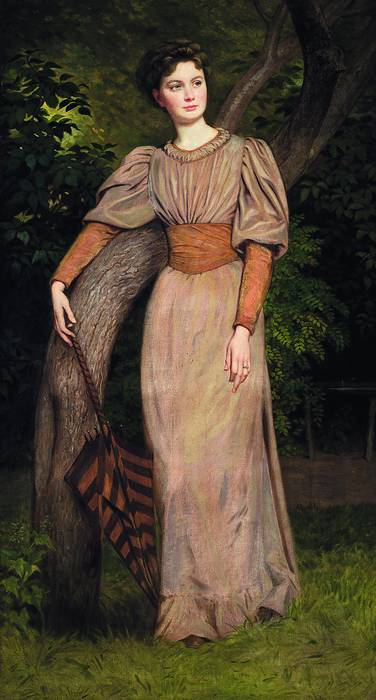 Székely Zseni képmása (1880 körül), Székely Bertalan