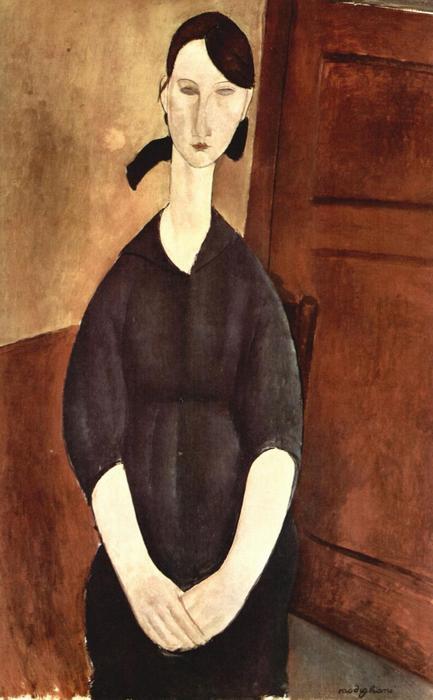 Paulette Jourdain portréja, Modigliani