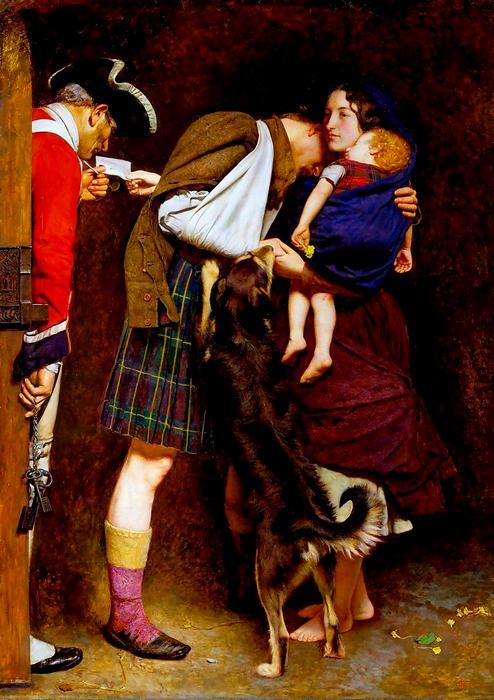 Szabadon bocsátó parancs (1852), John Everett Millais