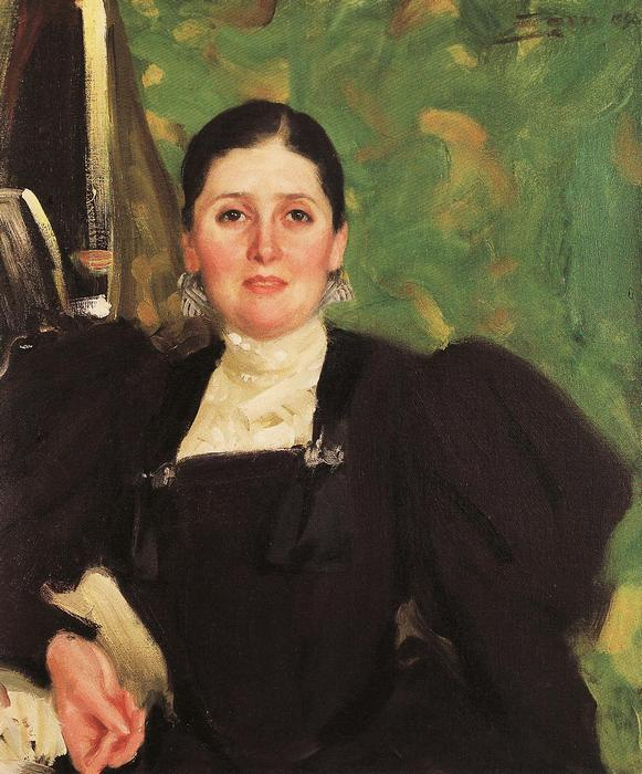 Martha Marckwald portréja, Max Liebermann