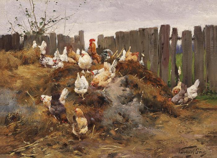 Baromfiudvar, Vastagh Géza