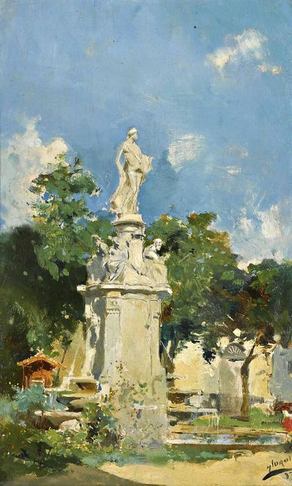 Apolló szobor Madridban (1883), Joaquin Sorolla