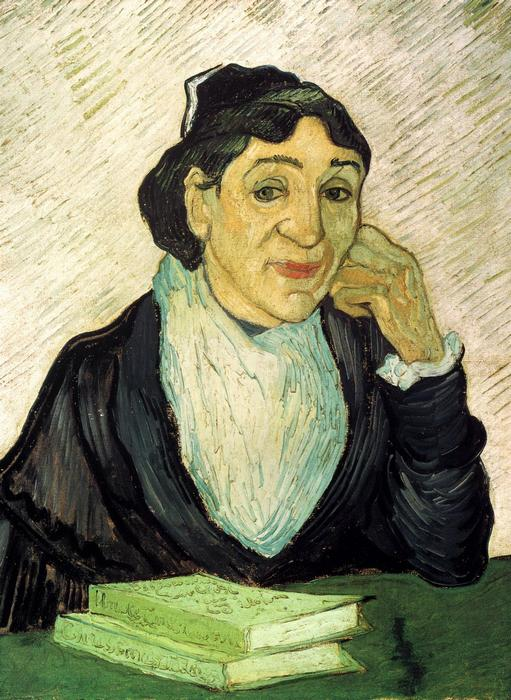 Az arles-i nő, Madame Ginoux portréja, Vincent Van Gogh