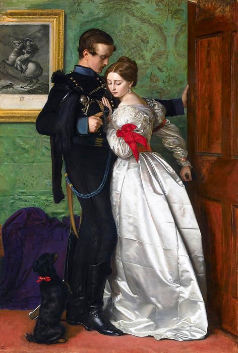 A fekete brunswicki , John Everett Millais