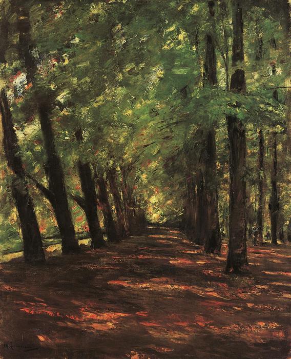 Erdei út (1895), Max Liebermann