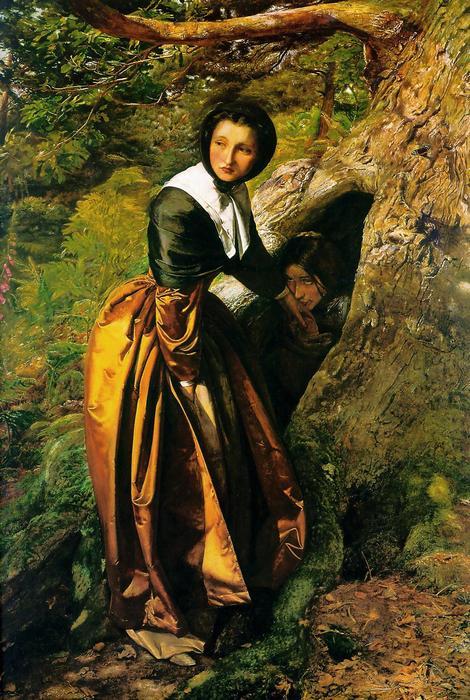 Az üldözött királypárti (1853), John Everett Millais