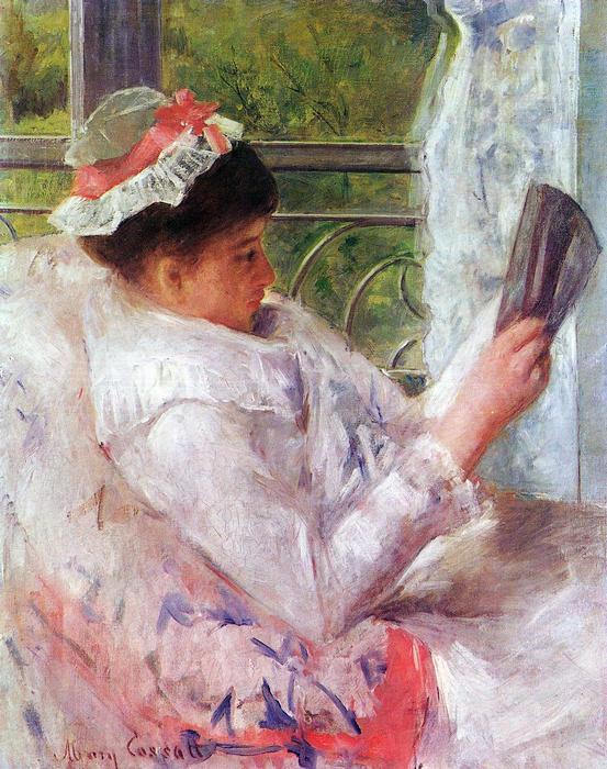 Lydia Cassat olvas, Mary Cassatt