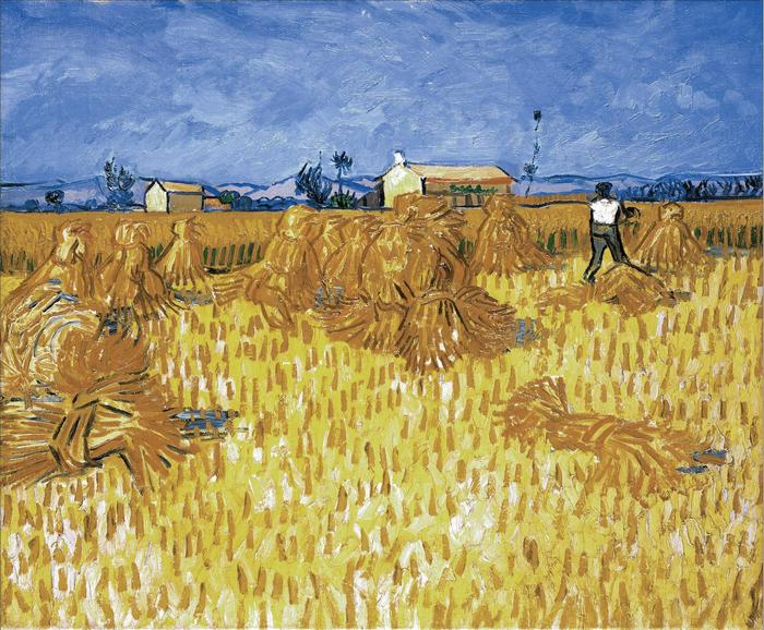 Aratás Provence-ban, Vincent Van Gogh