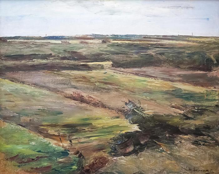 Holland tájkép (1912), Max Liebermann