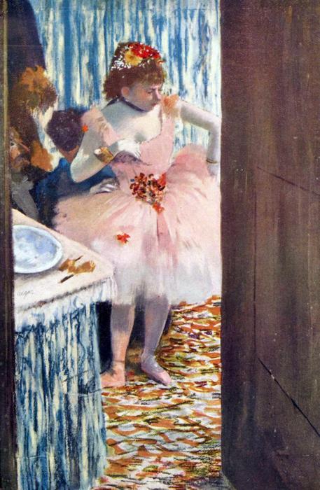 Balett-táncosnő a páholyban, Edgar Degas