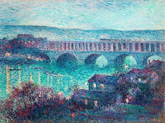 Viadukt, Maximilien Luce