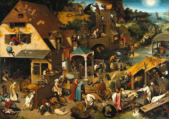 Bolond világ (Flamand közmondások), Pieter Bruegel the Elder