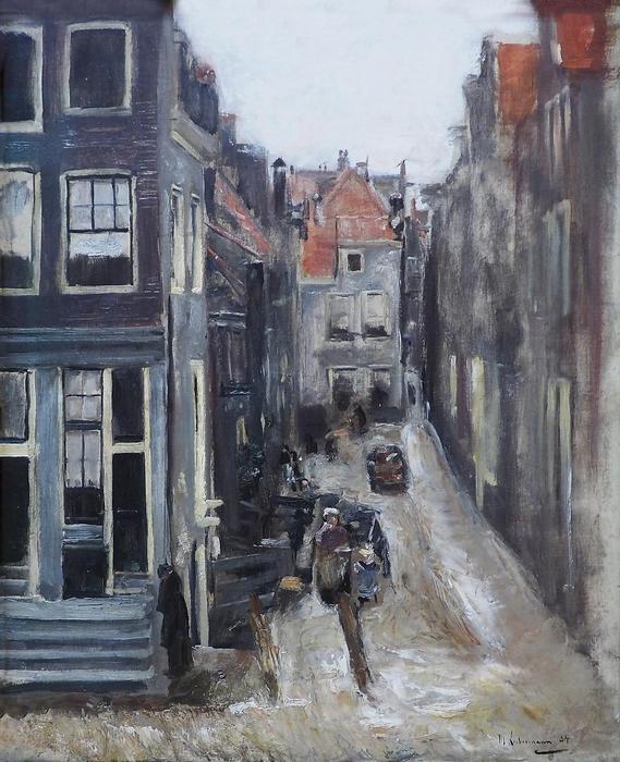 Zsidó negyed Amszterdamban, Max Liebermann