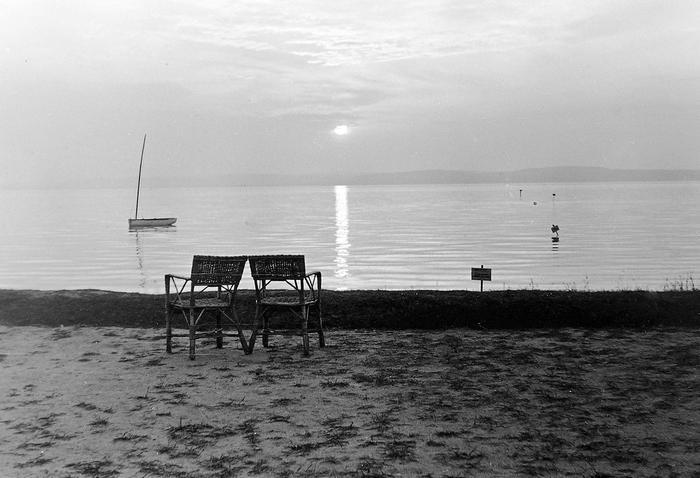 Naplemente a Balatonnál (1952), FORTEPAN
