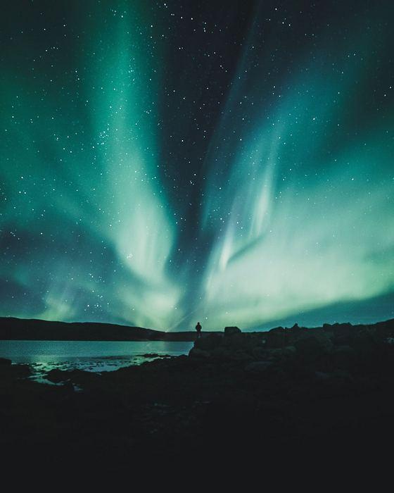 Északi fény, Izland, Partner Kollekció