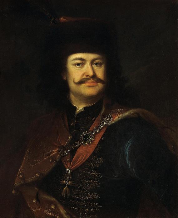 II. Rákóczi Ferenc portréja, Mányoki Ádám