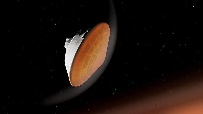Belépés a Mars atmoszférájába a Perseverance Roverrel (Illusztráció), Fotóművészek