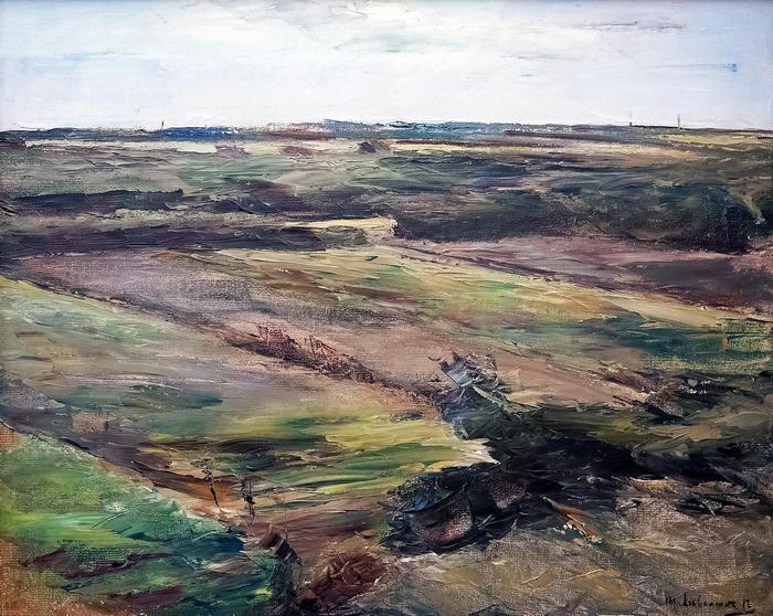 Holland tájkép (színverzió 1.), Max Liebermann