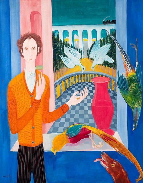 Önarckép galambokkal (1931), Paizs Goebel Jenő