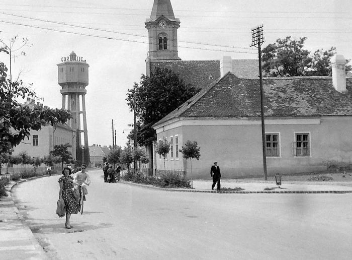 Siófok Víztorony (1948), FORTEPAN