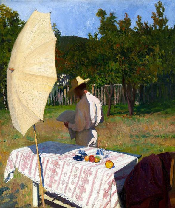 Október (1903), Ferenczy Károly