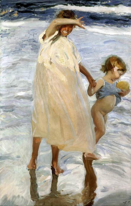 Két testvér (1909), Joaquin Sorolla