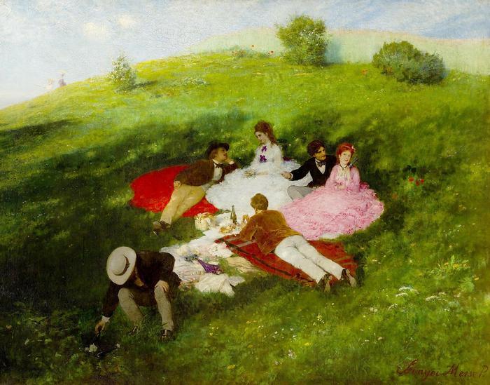 Majális (Piknik), Szinyei Merse Pál
