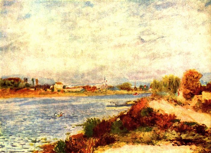 A Szajna Argenteuil-nél, Pierre Auguste Renoir