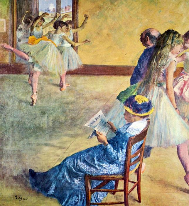 Balett lecke Madam Cardinal-nál, Edgar Degas