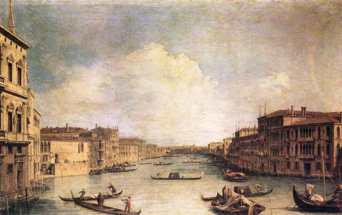 Velence: Grand-Canal, Canaletto