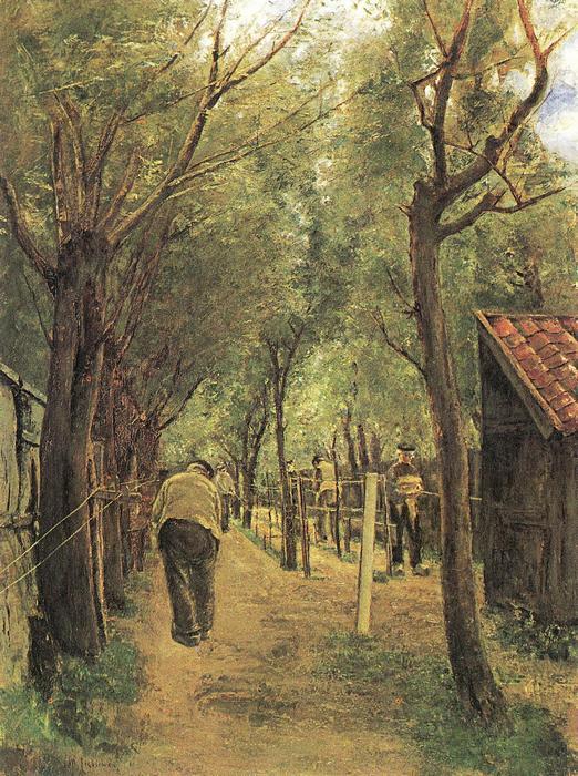 Kötélkészítők, Max Liebermann
