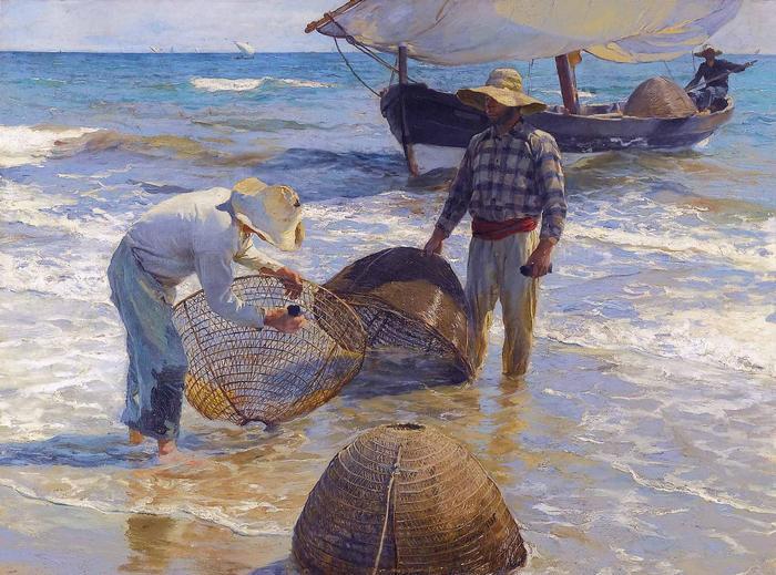 Valenciai halászok (1895), Joaquin Sorolla