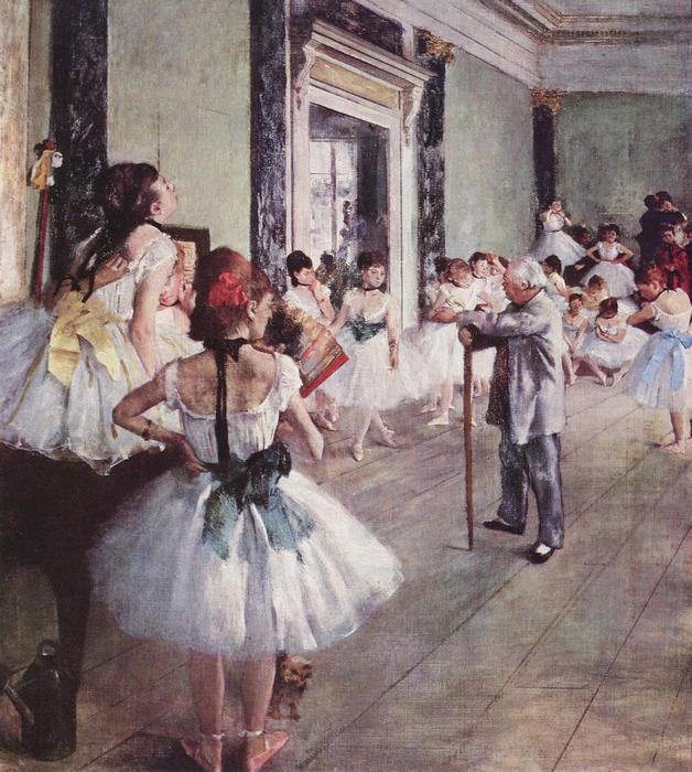 Balett osztály, Edgar Degas