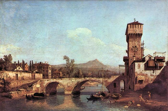 Capriccio Veneto, Canaletto