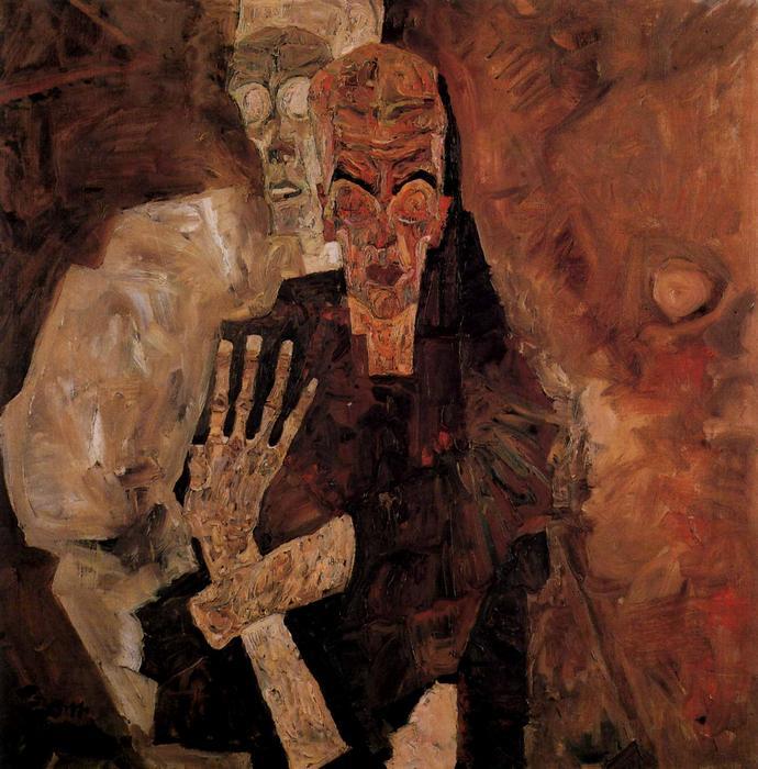 A Halál és a férfi, Egon Schiele