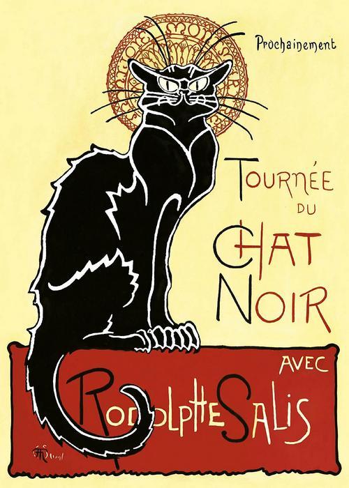 Tournée du Chat Noir, Théophile Alexandre Steinlen