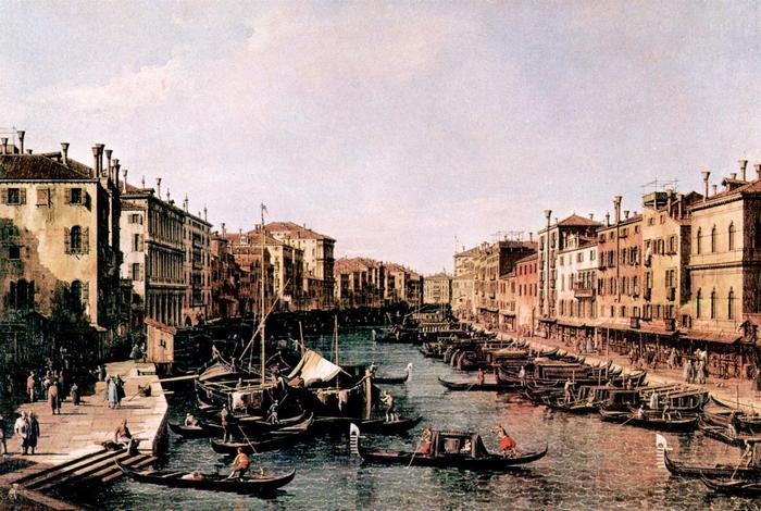 A velencei Grand Canal, Canaletto