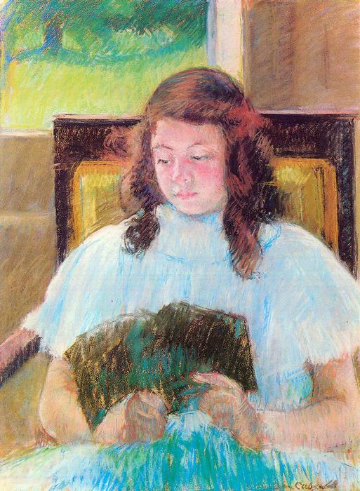Olvasó lány, Mary Cassatt