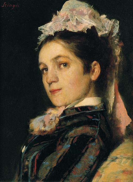 A művész felesége főkötőben (1879), Szinyei Merse Pál