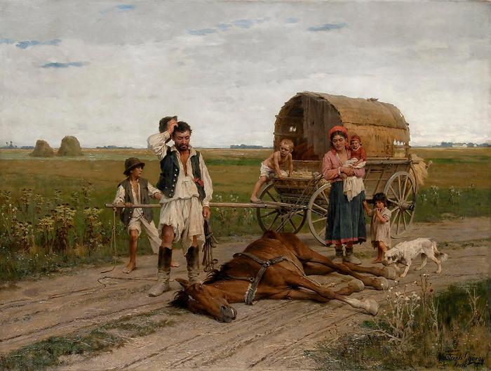 Kárvallott cigány, Vastagh György