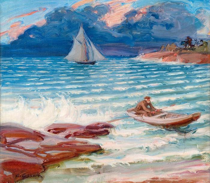 A halász hazatérése, Albert Gebhard