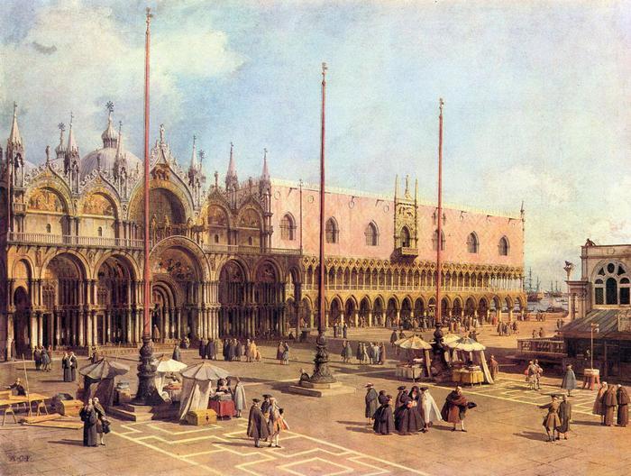 A Szent Márk tér, Canaletto