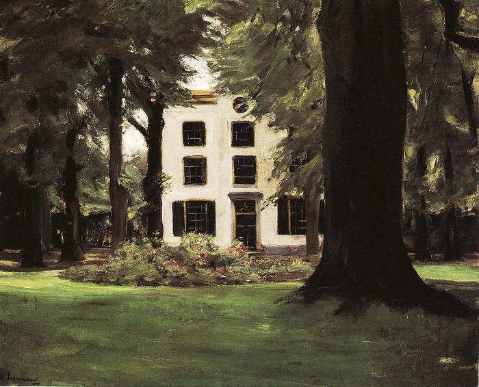 Villa Hilversumban, Max Liebermann